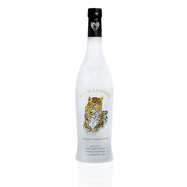 Amur Leopard Vodka Spirits